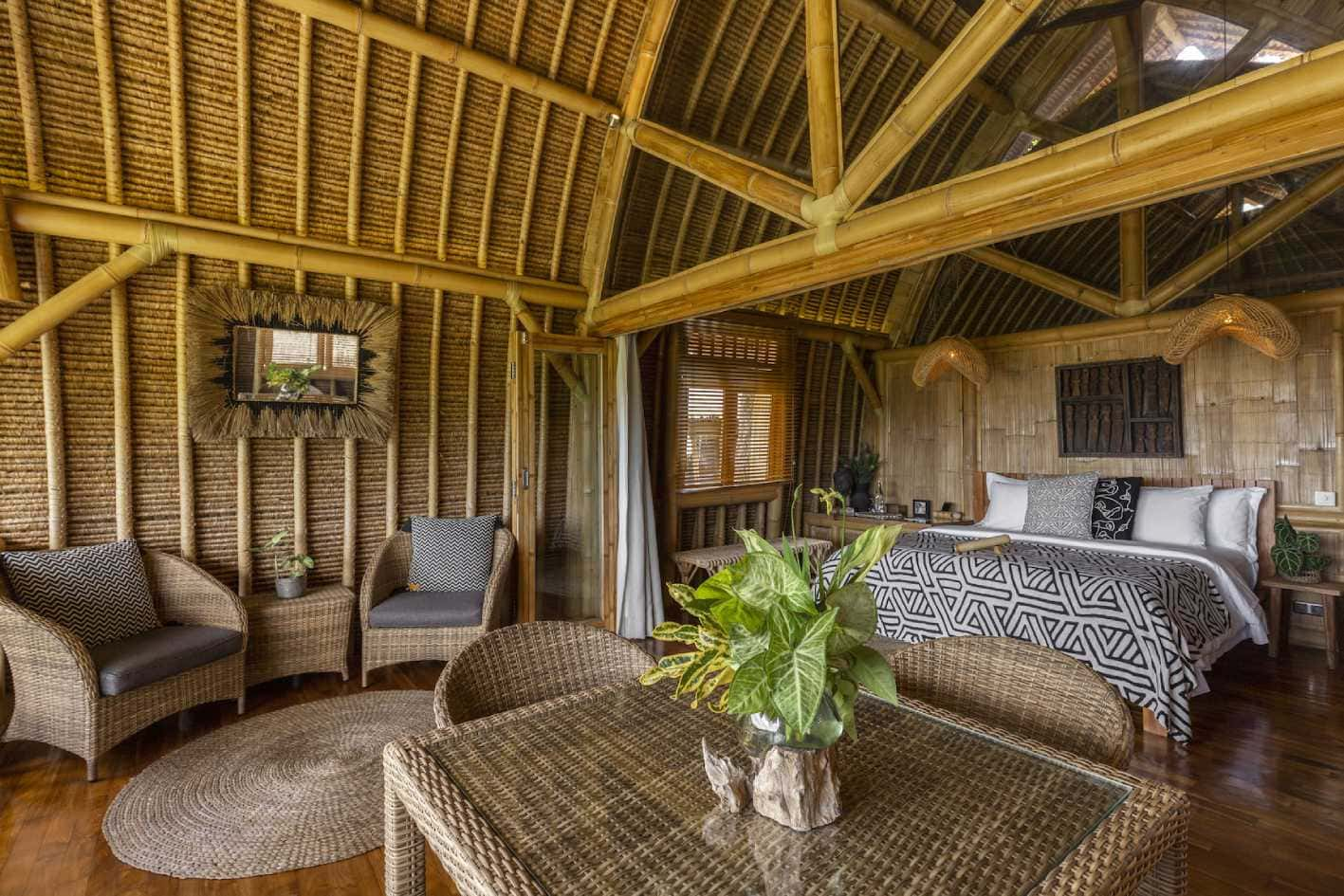 padi merah luxury villa at sidemen
