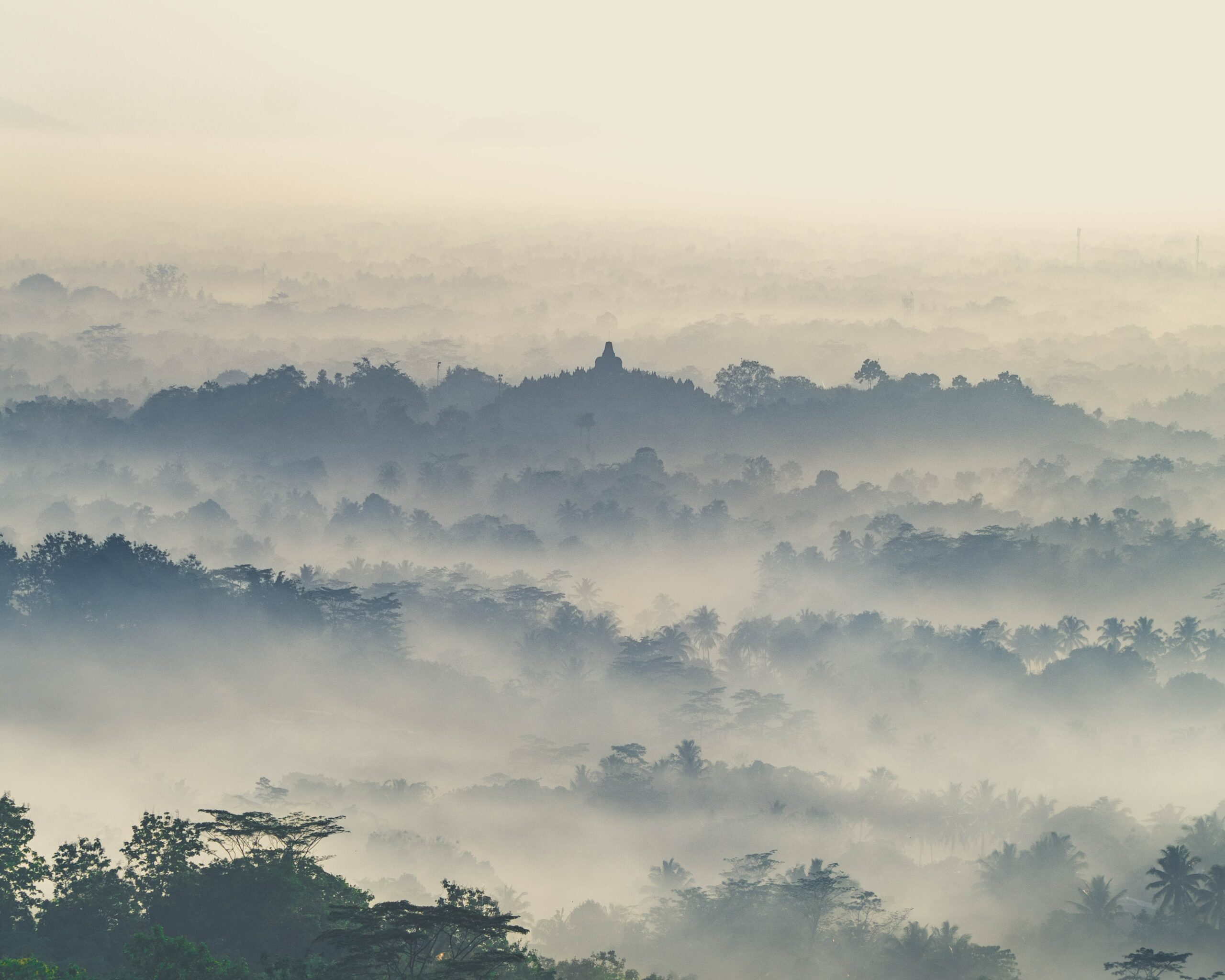 Borobudur is one of the most stunning landmarks in Indonesia.